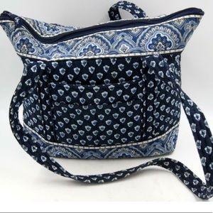 Vera Bradley Nantucket Navy Miller bag